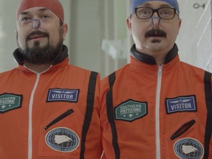 SPACEX - Synopsis: In this episode, Steve holds a trivia competition to decide which podcasters win a VIP tour of a design facility for space travel.
