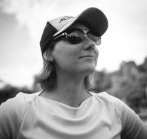 Globetrotter Kara Stellner is Moonshine's Post Coordinator.