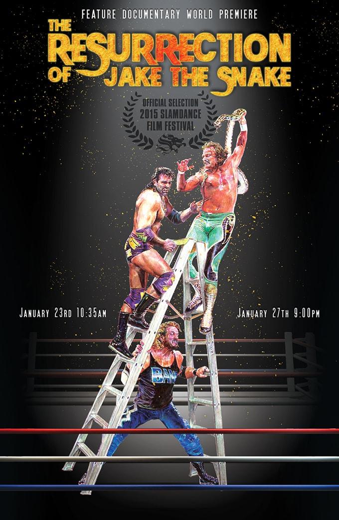 Jake the Snake Roberts Movie Poster