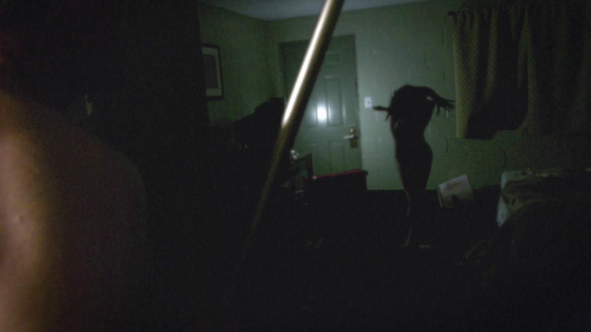 Drew Sawyer and David Bruckner collaborate using a face cam rig and actual spy glasses to shoot V/H/S segment Amateur Night, which later became a spin off feature, Siren. Drew not only shot the Atlanta segment, but stars in the film as Clint, one of the frat boys with a camera