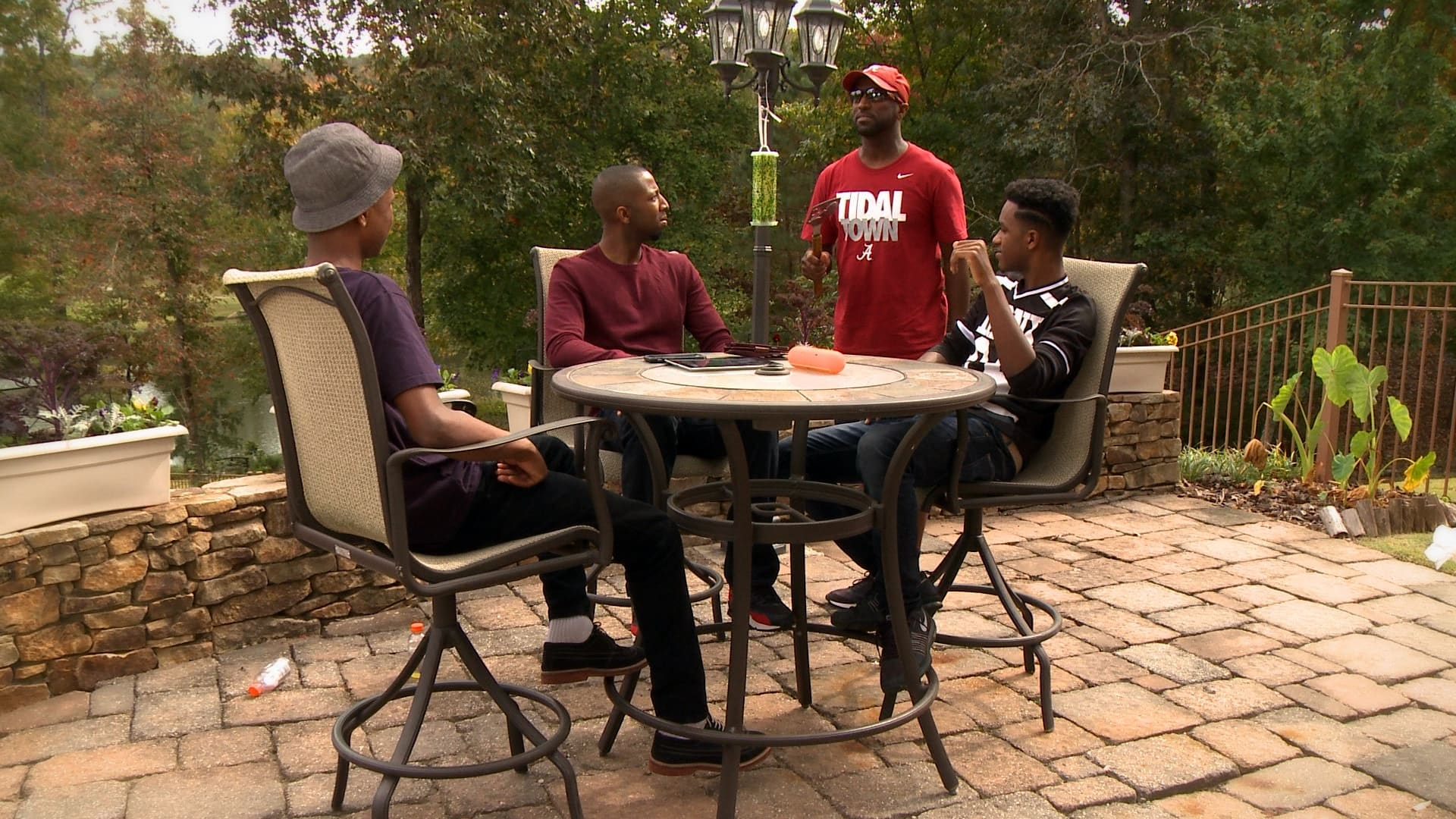 """Still from Rickey Smiley For Real - Moonshine Post in Atlanta collaborated with Overstreet Production and Post on full color correction to help tell their broadcast episodic in TV One's """"Rickey Smiley For Real."""""""