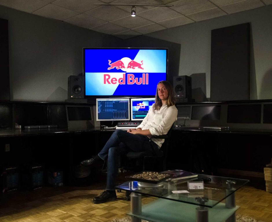Patrick Perry, Moonshine Editor, lead editor on an original series by Red Bull