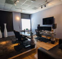 Inside an Online Edit Suite at Moonshine Post Production in Atlanta Georgia