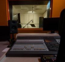 Still image Studio B Mix Stage and Live Room Window - Audio Services ADR - Moonshine Post Atlanta Georgia