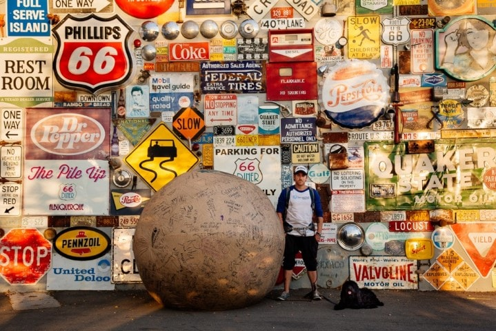 Thomas Cantley pushed a giant testicle across the United States and Canada for the sole purpose of being famous. After losing his testicle and his friends, it wasn't until he was left alone, thousands of miles from home with just his dog, Vader, and a giant 14 foot blow-up testicle, that Thomas realized his true mission: cancer had saved his life and he could help others beyond himself, to be Ballsy.