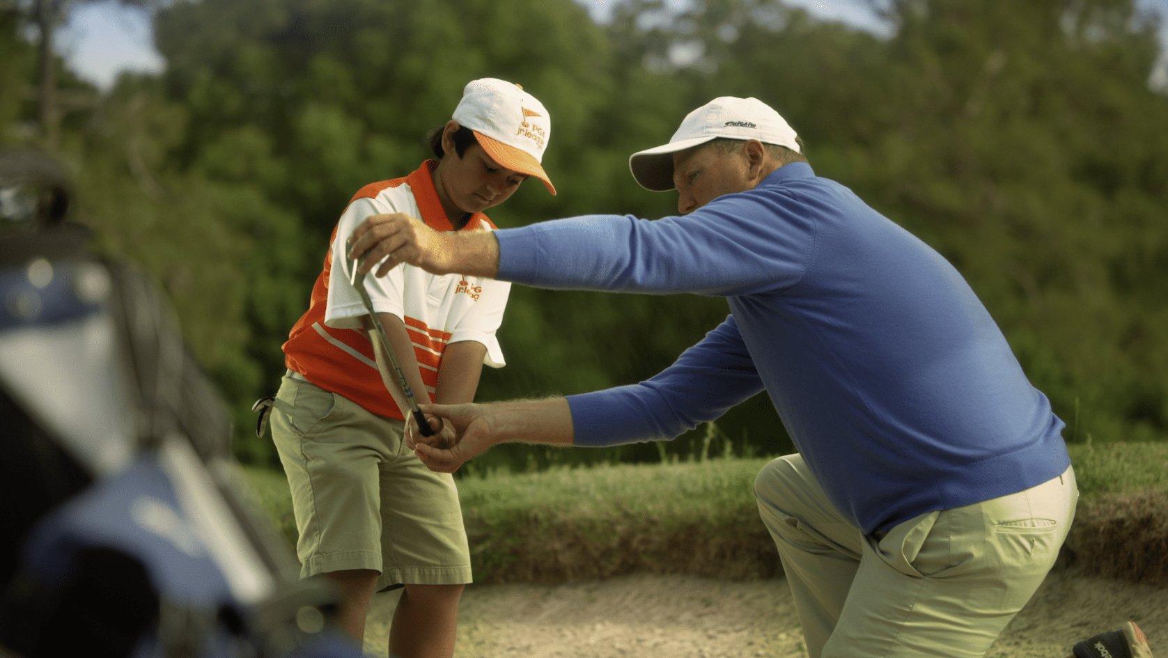 Still from Jack Dean PGA of America Campaign created by Ideas United and directed by David Cone - color finishing by John Peterson of Moonshine Post Production in Atlanta Georgia