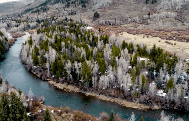 Brandon's Story River Aerial