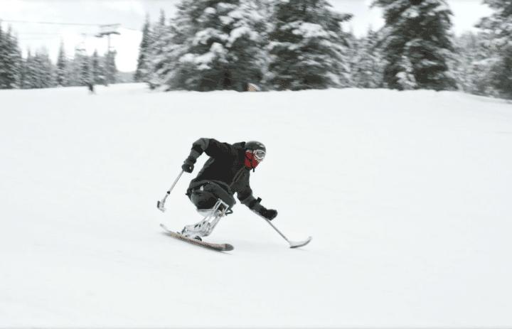 Brandon's Story Skiing