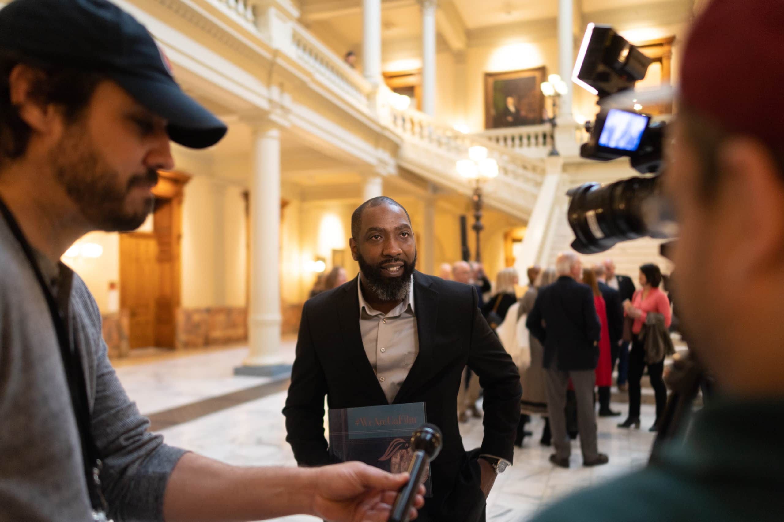 Moonshine Post-Production Supports GSIA at the GA State Capitol, Film Industry